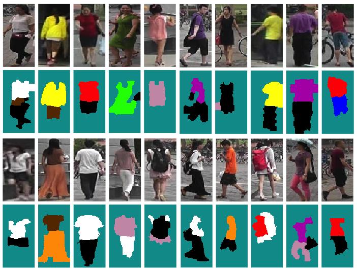 Pedestrian Color Naming via Convolutional Neural Network